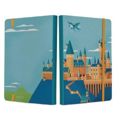 HARRY POTTER EXPLORING HOGWARTS CASTLE SOFTCOVER NOTEBOOK (C