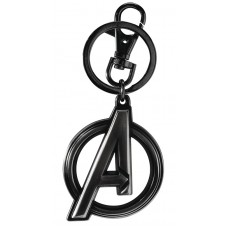 BLACK WIDOW AVENGERS LOGO PEWTER KEY RING (C: 1-1-2)