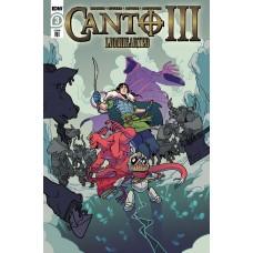 CANTO III LIONHEARTED #3 (OF 6) CVR A ZUCKER