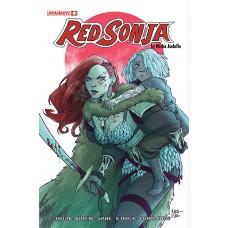 RED SONJA (2021) #1 CVR D D`URSO