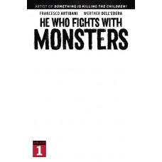 HE WHO FIGHTS WITH MONSTERS #1 CVR E BLANK SKETCH CVR (MR) (