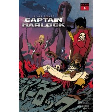 SPACE PIRATE CAPT HARLOCK #4 CVR A PEREZ