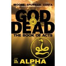 GOD IS DEAD BOOK OF ACTS ALPHA DIVINE VAR (MR) (C: 0-1-2)