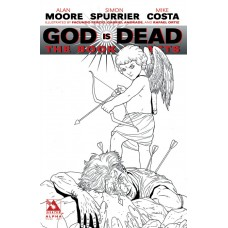 GOD IS DEAD BOOK OF ACTS ALPHA PURE ART VAR (MR) (C: 0-1-2)