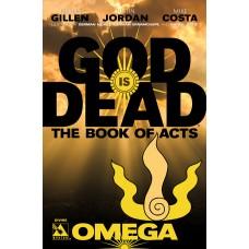 GOD IS DEAD BOOK OF ACTS OMEGA DIVINE VAR (MR) (C: 0-1-2)
