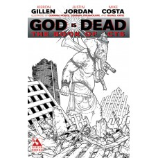 GOD IS DEAD BOOK OF ACTS OMEGA PURE ART VAR (MR) (C: 0-1-2)