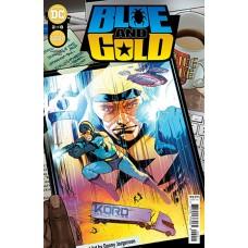 DF BLUE & GOLD #2 GOLD JURGENS SGN (C: 0-1-2)