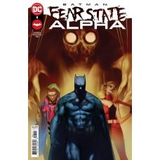 DF BATMAN FEAR STATE ALPHA #1 TYNION SGN (C: 0-1-2)
