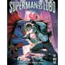 DF SUPERMAN VS LOBO #1 SEELEY & BEATTIE SGN (C: 0-1-2)
