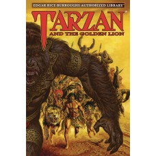 ERB AUTH LIB TARZAN HC VOL 09 TARZAN & GOLDEN LION (C: 0-1-0