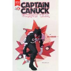 CAPTAIN CANUCK UNHOLY WAR TP