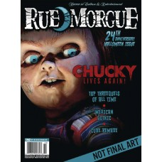 RUE MORGUE MAGAZINE #203 AUGUST 2021 (C: 0-1-0)