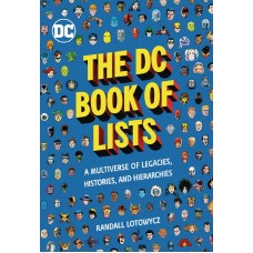 DC BOOK OF LISTS HC (C: 0-1-0)