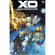 X-O MANOWAR (2020) #6 CVR B JOHNSON