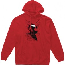 SPIDER-MAN CARNAGE WEBHEAD PX RED PULLOVER HOODIE XXL (C: 1-