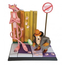 PINK PANTHER & THE INSPECTOR 16IN STATUE (Net) (C: 1-1-2)