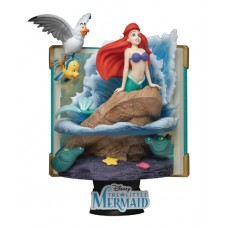 DISNEY STORY BOOK SER DS-079 ARIEL D-STAGE 6IN STATUE (C: 1-