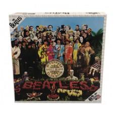 BEATLES SGT PEPPER DOUBLE SIDED ALBUM ART 1000PC PUZZLE (C: