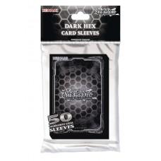 YU GI OH TCG DARK HEX CARD SLEEVES PACK (50CT) (C: 0-1-2)
