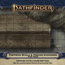 PATHFINDER FLIP-TILES FORTRESS WALLS & TOWERS EXP (C: 0-1-2)