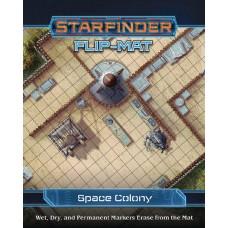 STARFINDER FLIP-MAT SPACE COLONY (C: 0-1-2)