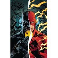BATMAN FLASH THE BUTTON DELUXE ED HC (REBIRTH)