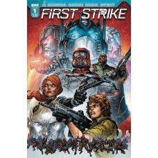 FIRST STRIKE #1 CVR A WILLIAMS II
