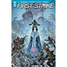 FIRST STRIKE #2 CVR A WILLIAMS II