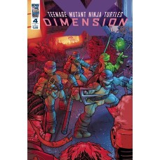 TMNT DIMENSION X #4 CVR B JOHNSON
