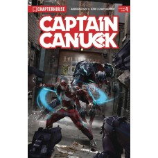 CAPTAIN CANUCK 2017 ONGOING #4 REG CVR