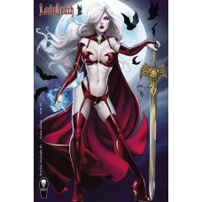 LADY DEATH MERCILESS ONSLAUGHT #1 TUCCI SCARLET VARIANT CVR (MR)