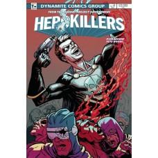 PROJECT SUPERPOWERS HERO KILLERS #4 CVR B BROWNE