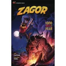 ZAGOR 1000 FACES OF FEAR GN