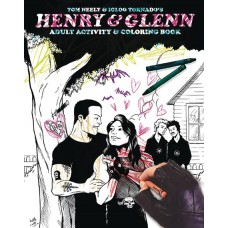 HENRY AND GLENN ADULT COLORING BOOK (MR)