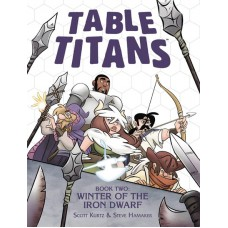 TABLE TITANS TP VOL 02 WINTER OF THE IRON DWARF