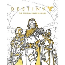 DESTINY OFFICIAL COLORING BOOK SC