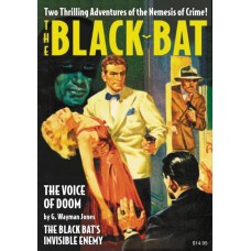 BLACK BAT DOUBLE NOVEL #9 INVISIBLE ENEMY & VOICE OF DOOM