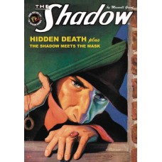 SHADOW DOUBLE NOVEL VOL 121 HIDDEN DEATH & MEETS THE MASK