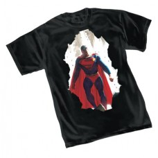 SUPERMAN BREAKTHROUGH BY ROSS T/S XXL