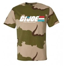 GI JOE AMERICAN HERO CAMO T/S XL