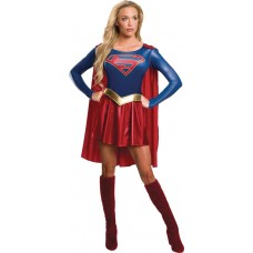 DC SUPERGIRL TV SERIES ADULT COSTUME SM (Net)