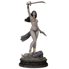 WOMEN DYNAMITE DEJAH THORIS STATUE B&W ED PROOF