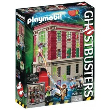 PLAYMOBIL GHOSTBUSTERS FIREHOUSE PLAY-SET (Net)