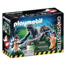 PLAYMOBIL GHOSTBUSTERS VENKMAN W/ TERROR DOGS PLAY-SET (Net)