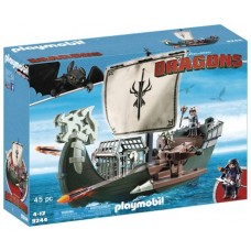 PLAYMOBIL HTTYD DRAGOS SHIP PLAY-SET (Net)