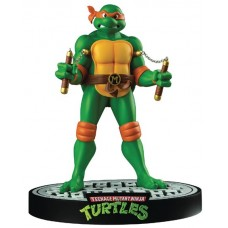 TMNT MICHELANGELO 12IN STATUE