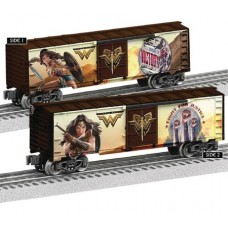 WONDER WOMAN MOVIE TRAIN BOXCAR