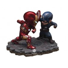 CAPTAIN AMERICA CIVIL WAR EA-025 CAP VS IRON MAN PX STATUE