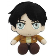 AOT EREN SITTING POSE PLUSH 8IN PLUSH