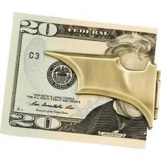 DC BATMAN BATARANG BRONZE FOLDING MONEY CLIP (Net)